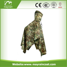 Heavy Duty Long Impermeable Military Rain Poncho