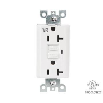 GFCI 125V Wall Outlets outdoor Approved Sockets