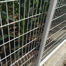 ODM for Mesh Metal Fence 3d-fence triangle bending weld mesh fencing panel supply to South Korea Importers