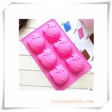 16 Cavity Oval Silikonform für Seife, Kuchen, Cupcake, Brownieand Mehr (Ha36017)