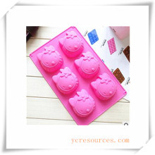 16 Cavity Oval Silicone Mold for Soap, Cake, Cupcake, Brownieand More (Ha36017)