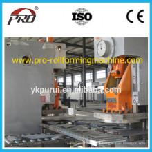 Línea de producción de barril de acero de baja velocidad / Equipo de tambor de acero 205L