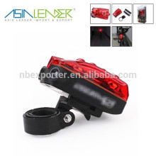 Креативный дизайн 5 LED + 2 Лазерная вспышка безопасности дорожного света
