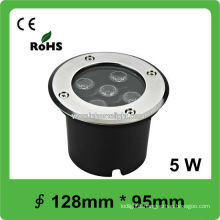 5W Round led underground light outdoor lighting IP68