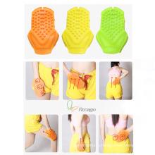 Удобный ручной Massagersilicone Массаж рукавицей для ухода за кожей