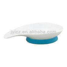 plato de inmersión de porcelana