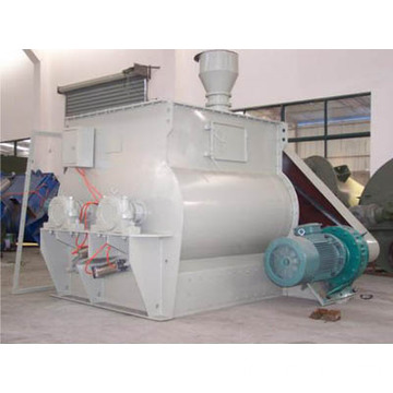 Single Shaft Paddle Mixer for Plastic Powder Mix