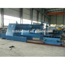 Déboisable hydraulique en acier inoxydable en bobine d'acier 10T avec voiture d'alimentation en bobine
