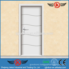 JK-P9217 Brazil style white laminated doors for kitchen cabinet