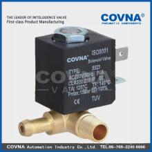 Electrodomésticos en miniatura de actuación directa electroválvula NO / NC
