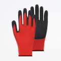 Polyester Shell Latex Palm Coated Work Gloves