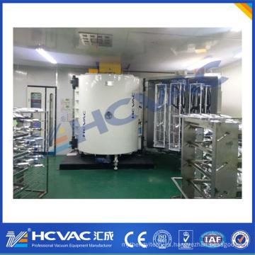Máquina automotriz de la metalización del vacío de la placa del reflector / sistema de capa automotriz de la luz Pecvd