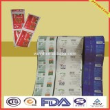 custom printing nuts laminated packaging film