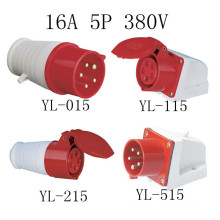 16A 5pin Industrial Plug and Socket