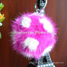 Many Colors Fluffy Keychains