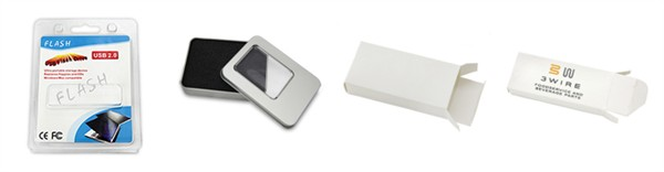 Pen USB Memory Stick White Box