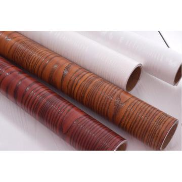 Wooden Self Adhesive Film PVC Wallpaper