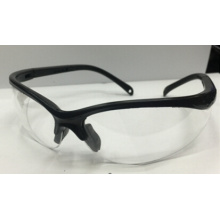 Transparent Safety Glass with Black Colour Outline