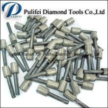 Glasmarmor-Granit-Stein-Beton Galvanisierter gesinterter Diamant-Stich-Burr