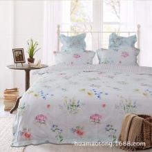 Algodão Quilt Cover Home Textile Bedding Set