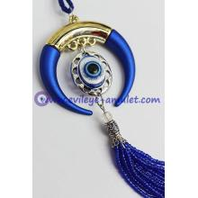 The new evil eye pendant decorated horns evil eye beads