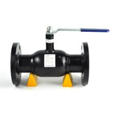 API 607 de acero al carbono con brida válvula de bola flotante