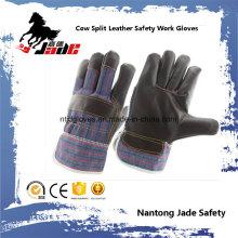 Dunkles Möbel Leder Arbeitsschutz Handschuh