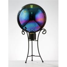 10 Inch Rainbow Stainless Steel Gazing Globe