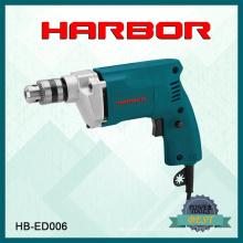 Hb-ED006 Harbour 2016 Venda quente ferramentas eléctricas superiores Broca elétrica