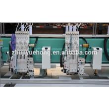 YHM612 + 12 (Flat + lantejoula simples + enrolamento simples + chenille) Máquina do bordado