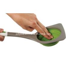 FDA Silicone Fodable Strainer/Colander