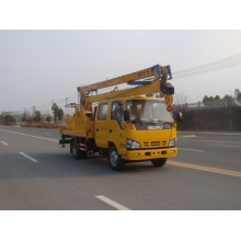 4x4 isuzu high-altitude operation bucket truck for sale