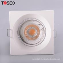Cutting 75MM deep hole ceilling light GU10 G5.3 anti glare grid led ceiling light