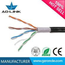 Cable al aire libre de la chaqueta doble del cable del gato 5p de utp