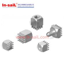 Hardware del sujetador de material de metal PCB