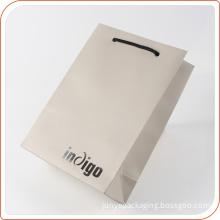 High quality art paper rope handle wholesale shopping paper bags