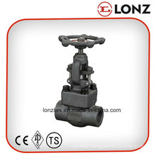 ANSI A105 Carbon Steel NPT Thread Forged Steel Gate Valve