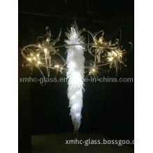 Hotel Art Chandelier Glass Pendant Light