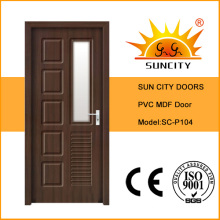 Good PVC Toilet Door Price (SC-P104)