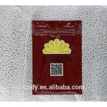 Custom Ziplock impresso sacos de embalagem de plástico para lanche