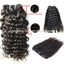 Unprocessed Human Hair Brazilian Hair Extension Kinky Curl