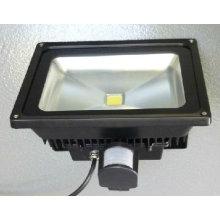50w LED éclairage d'éclairage 50w projecteur LED 50w LED-Flut-Licht avec capteur de mouvement détecteur de mouvement