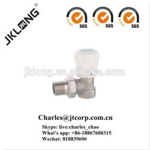 Brass Angle Radiator Valve with Nickel Plated Forging valve