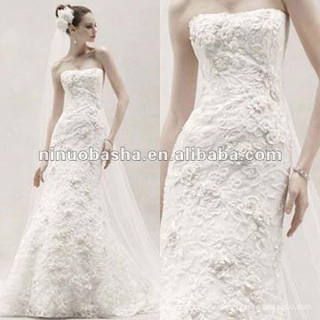 Приталенный раструб платье с свадебное платье