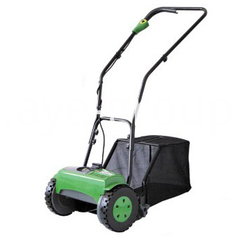 Cordless cylinder lawn mower