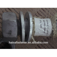ASTM A193 B7 rosca roscada rosca interna M42