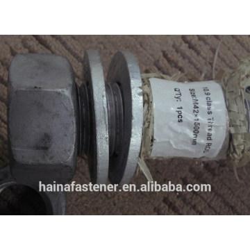 ASTM A193 B7 threaded rod internal thread M42