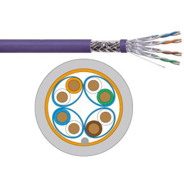 Cat6a Cable de Lan SFTP