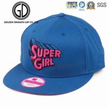 Sombrero gordo de Snapback del sombrero de los deportes del béisbol de la alta calidad del bordado gordo 3D del soplo