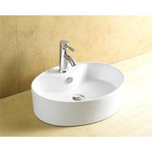 Bacia de porcelana de banheiro oval de alta qualidade 8041